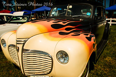 Flamin' (tsteiner61904) Tags: canon eos 70d photoshop elements 14 harrington delaware car show hot rod flames flamin fire outdoors photowalk fun black red orange artistic