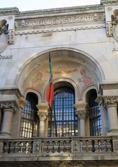 Guimares (7) (Silvia Inacio) Tags: portugal bandeira museum museu balcony flag guimares minho varanda