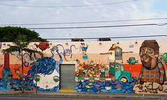 Wynwood Walls in Miami ({ ka2rina }) Tags: streetart florida miami gustavo artdistrict otavio osgêmeos wynwood pandolfo