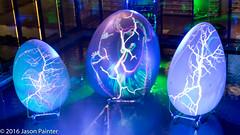 Primordial Pond (The Electric Canvas) (Japester68) Tags: city light sculpture animal festival night dinosaur outdoor egg sydney vivid australia event nsw aus prehistoric 2star