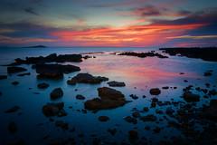 Keep calm and enjoy the sea (Piero Tranchida) Tags: sunset sea seascape sunrise colorfull palermo sferracavallo isoladellefemmine barcarello