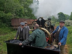 Tanfield Railway Legends of Industry Gala (penlea1954) Tags: uk england heritage industry train vintage berkeley no board hill north shed engine railway trains steam east national worlds legends preserved coal marley sir 35 gala tyneside oldest cecil cochrane tanfield a