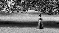 More of the Lynn (Dell's Pics) Tags: lynn chadwick cloaked figure ix yorkshire sculpture park