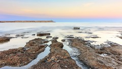Puerto de Benicarl (Txeny4) Tags: water canon puerto agua playa 1022mm hitech texturas cala rocas castellon crepuscular nisi parador benicarlo 70d lucroit txeny4
