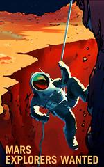 Be a Martian! (NASA's Marshall Space Flight Center) Tags: art poster space nasa kennedy nasamarshall journeytomars nasakennedy nasasmarshallspaceflightcenter nasaskennedyspacecenter