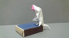 """Japanese macaque """"snow monkey"""" (Nihonzaru) (Patrikeev Alexandr) Tags: origami monkey macaque nihonzaru"""