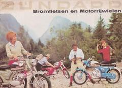 ZUNDAPP Bromfiets Dealer Brochure Model Super Combinette De Luxe, KS 50 Sport en KS 100 (Holland 1965)_1 (MarkAmsterdam) Tags: england bike shop tricycle engeland fiets bycicle manufacturer cycly fietsenmaker fietsenfabrikant
