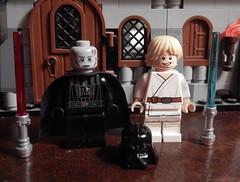 2016-171 - Father's Day (Steve Schar) Tags: wisconsin nikon lego fathersday darthvader lukeskywalker minifigure anakinskywalker 2016 sunprairie project365 project366 nikonaw120