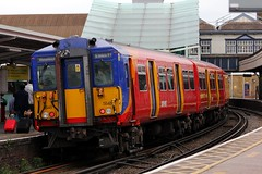 455848 Clapham Junction 21.06.16 (jonf45 - 2.5 million views-Thank you) Tags: west london electric br south rail trains junction class multiple emu british railways clapham unit 455 4558 5848 455848