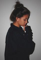 Ana Laura | YD'OM (MARK2K15) Tags: blue blackandwhite woman inspiration art love girl fashion dark photography freedom alone emotion creative dramatic angry indie drama darkblue loveless tumblr vsco instagram