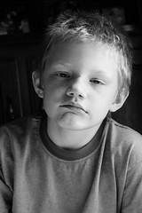 when you visit your crazy camera aunt (RubyT (I come here for cameradarie)) Tags: portrait blackandwhite bw blancoynegro monochrome mono monocromo child nb bn schwarzweiss blancetnoir aplaceforportraits canong5x