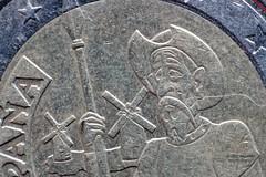 Coin 2  from Spain (gorrarroja) Tags: espaa macro valencia spain coin moneda macrophotography macrofotografa