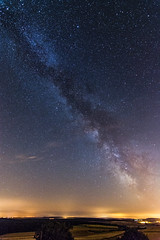 Milky Way (ChAape) Tags: france long exposure sky nightscape metz astronomy moselle stars milkyway constellation mont pierre etoiles villers stoncourt voielacte
