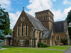 Holy Trinity Botley and Lyne E6240413_03 (tony.rummery) Tags: england building church religious worship unitedkingdom faith olympus christian gathering gb congregation lyne omd em10 mft microfourthirds