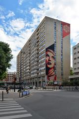 Shepard Fairey, Paris 13, 2016 (Selbymay) Tags: paris obey fairey shepard