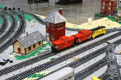 BW_16_Penn-Tex_034 (SavaTheAggie) Tags: pennlug tbrr pentex texas brick railroad train trains layout steam engine locomotive locomotives display yard city