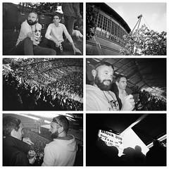 The Stone Roses - 18 June 2016 (iampaulrus) Tags: thestoneroses gig concert manchester etihad montage etihadstadium blackandwhite blackwhite collage sunglasses beard beer stadium ilford xp2 singleusecamera mono paulfargher paulfargherphotography 35mm film candid analogue flash plasticlens fixedfocus crowd audience iphone hobgoblin photoexpresshull
