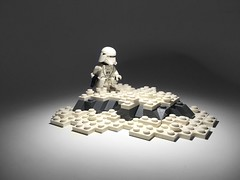 Patrol on STARKILLER Base... ([B]ryce) Tags: star order force first wars base the snowtrooper vig awakens starkiller