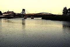 Alccer do Sal - Portugal (Daniele855) Tags: bridge sunset reflection portugal water river tramonto view fiume ponte acqua scorcio portogallo riflesso alcacerdosal passeggiata