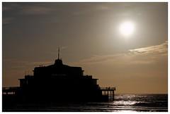 The Pier, Blankenberge (B) (de.brusselaar) Tags: beach backlight strand contraluz belgium blankenberge playa pear spiahhia