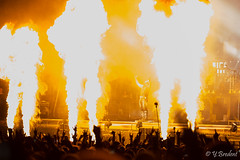 Rammstein @ Hellfest 2016-30 (yann.bredent) Tags: festival metal rock music musique live show stage lights fireworks 2016 hellfest hellfest2016 artiste concert rammstein band artist