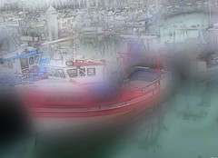 2016-07-08 La Turbale (april-mo) Tags: sea seascape port mer seasideresort blurred brittany bretagne france flouartistique experimentaltechnique filtre