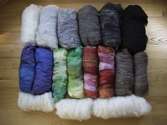 After (Part 1) (chavala) Tags: knitting spinning batts batts2016 fiber