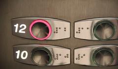Buttons Up (brandsvig) Tags: up skne spring sweden 10 buttons elevator may sverige 12 malm ef vr hiss canon500d grndal 18135 2013 knappar sdertorpsgrden