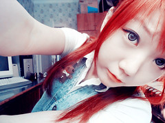 SKYLER'S (34) (LEECHINHWA l skyler) Tags: red cute girl beautiful hair doll pretty mask sweet russia gray korea korean lee kawaii spike uzbekistan chin skyler hwa pika lenses taki takumi bestface chinhwa ulzzang uljjang ohljjang leechinhwa