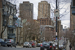 McGill University neighbourhood (LunaticDesire) Tags: road ca street city trip travel trees houses homes windows urban house holiday canada building tree cars college tourism students architecture clouds america buildings easter photography living town office spring nikon university downtown apartments cityscape exterior quebec montreal centre hill north row tourist canadian northamerica housing condos dslr studying streetscape mcgill qc neighbourhood province offices rowhouses d40 2013