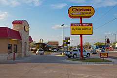 Chicken Express (ezeiza) Tags: food chicken oklahoma sign ada restaurant drive fastfood fast drivethru express through ok fried friedchicken drivethrough thru chickenexpress