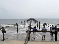 Alappuzha Sea Bridge (Abraham Jacob N) Tags: india kerala seabridge alappuzha