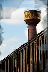 Window (michael_hamburg69) Tags: brick germany deutschland decay watertower continental hannover wasserturm conti urbex niedersachsen lowersaxony ziegel limmer photowalkwithkatrin