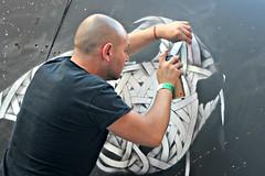 Otto Schade aka Osch, Upfest (8333696) Tags: bear street urban streetart art st wall bristol tin graffiti stencil mural paint panda artist north can spray otto painter spraypaint graff aerosol pandabear osch schade upfest 2013