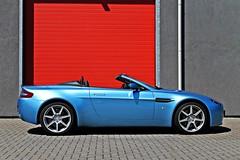 Blue mist (levivandew97) Tags: blue netherlands spider martin audi v8 aston astonmartin vantage rs4 roadster astonmartinv8vantage audirs4 spuder astonmartinv8