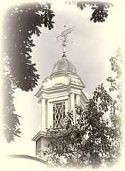 Cupola Revisited (Reinardina) Tags: england beauty architecture vintage hampshire cupola southampton digitalmanipulation vintagelook