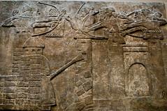 London - Assyrian Battering Ram - 09-07-12 (mosley.brian) Tags: england london britishmuseum assyrian assyrianempire