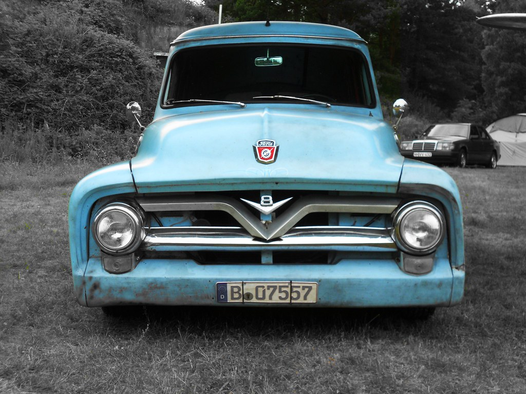 The Worlds Newest Photos Of 1950s And F100 Flickr Hive Mind Ford V8 Van Transaxle Alias Toprope Tags Auto Blue Light