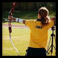 (Sara6818) Tags: arc arrow archway archer arco flecha longbow tiroconarco arquero flickrandroidapp:filter=none