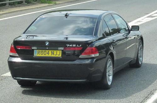 BMW 745Li July 2013