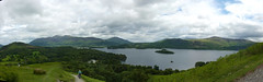 Panoramic from the side of Catbells (Bods) Tags: walk lakedistrict panoramic cumbria derwentwater keswick catbells catbellswalk lakedistrict2013 lakedistrict2013day2