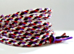 Hand-braided yarn cord 1.19 yard (Melbangel acct #2) Tags: cord singapore supplies multicolors acrylicyarn melbangel handmadecord thickyarnstring thinyarnrope