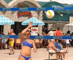 Volleyball on Hollywood Beach 3 (Lautermilch) Tags: hot ass beach model breasts pretty tits legs boobs bra pussy young bum bikini thong rack volleyball milf hotlegs tanned milfs chicka sportsbra miamibikini tightbras