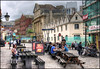 Outside the Old Duke (zolaczakl ( 2.5 million views, thanks everyone)) Tags: people architecture buildings bristol nikon tables pubs kingstreet d90 llandogertrow oldduke jeremyfennell