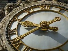 Moment in Time (KaDeWeGirl) Tags: newyorkcity clock gold manhattan midtown moment gilded helmsleybuilding 100words edwardmccartan