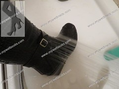 mywetboots8 (COZOCHA) Tags: wellies wedge gummistiefel rainboots mywetboots