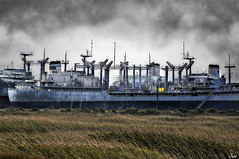 Ghost Ships (Juro_Photography) Tags: ship sony benicia hdr textured cementery sonya580 imperialphotography artofomageasmusic