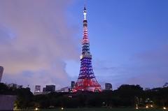 2020Tokyo Tower (ELCAN KE-7A) Tags: tower japan tokyo pentax illumination   olympics shiba 2020      2013   k5s