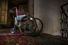 wheelchair (WolfiNim) Tags:
