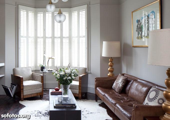 salas decoradas residenciais